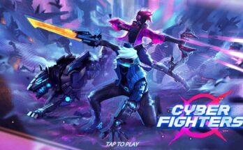 Cyber Fighters Apk Mod Dinheiro Infinito-flamingapk