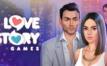 Love Story apk mod diamantes infinitos e tickets