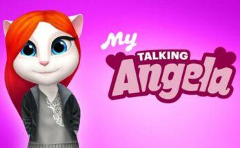 My Talking Angela Dinheiro Infinito-flamingapk