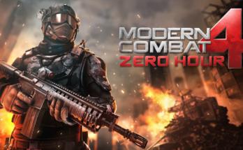 Modern Combat 4 Zero Hour Apk Mod Dinheiro Infinito