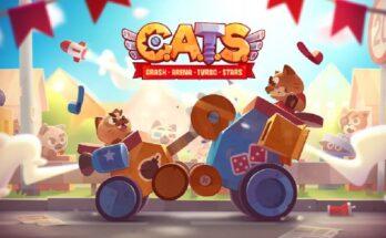 Cats Crash Arena Curbo Stars apk mod dinheiro infinito