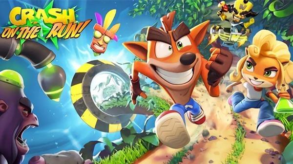 Crash Bandicoot On the Run apk mod dinheiro infinito-flamingapk
