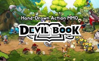 Devil Book Hand-Drawn Action Unlimited Money-flamingapk