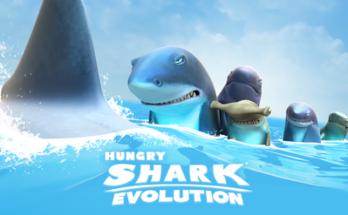 Hungry Shark Evolution apk mod dinheiro infinito-flamingapk