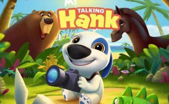 My Talking Hank Mod Apk Unlimited Coins And Diamonds-flamingapk