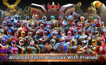 Power Rangers Legacy Wars  Apk Mod Menu