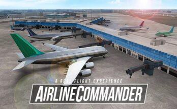 Baixar AIRLINE COMMANDER apk mod dinheiro infinito 2021