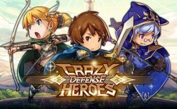 Crazy Defense Heroes apk mod dinheiro infinito 2021