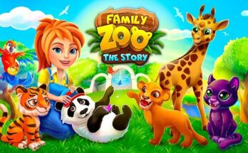 Family Zoo The Story apk mod dinheiro infinito 2021