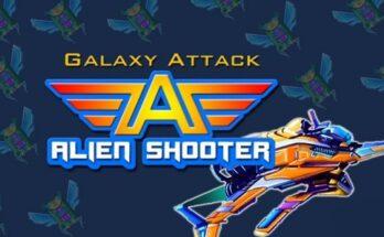 Galaxy Attack Alien Shooter apk mod dinheiro infinito