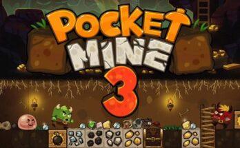 Pocket Mine 3 apk mod dinheiro infinito