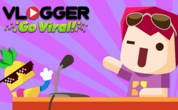 Vlogger Go Viral Clicker apk mod dinheiro infinito