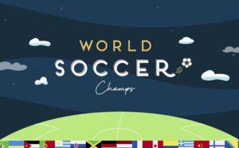 Baixar World Soccer Champs apk mod dinheiro infinito 2021