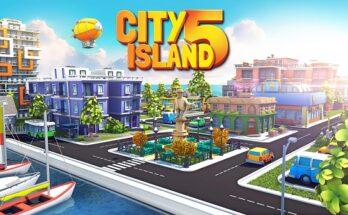 City Island 5 Tycoon Building apk mod dinheiro infinito 2021