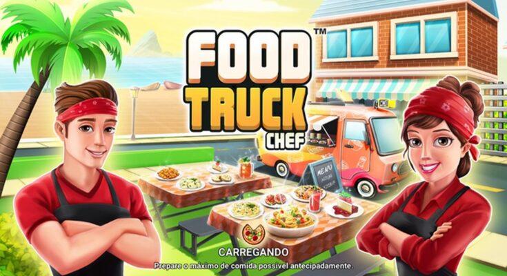 Food Truck Chef apk mod dinheiro infinito 2021