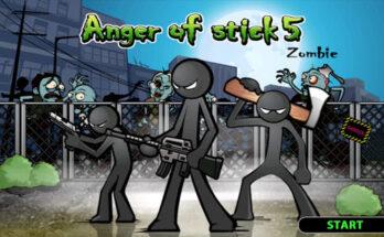Anger of Stick 5 apk mod dinheiro infinito 2021