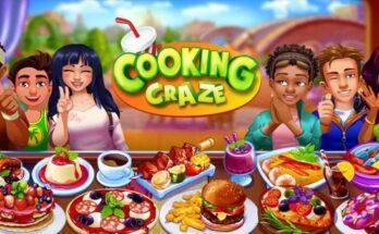 Cooking Craze apk mod dinheiro infinito 2021