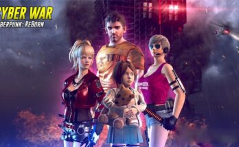 Cyber War Cyberpunk Reborn apk mod dinheiro infinito 2021