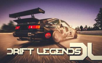 Drift Legends apk mod dinheiro infinito 2021