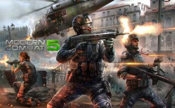 Baixar Modern Combat 5 apk mod dinheiro infinito 2021