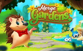 Merge Gardens apk mod dinheiro infinito 2021