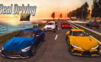 Real Driving Sim apk mod dinheiro infinito 2021