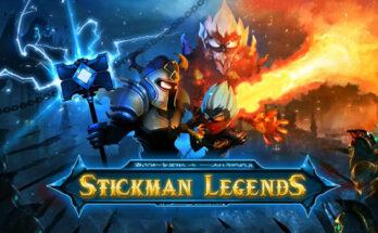 Stickman Legends Shadow Wars apk mod dinheiro infinito atualizado 2021