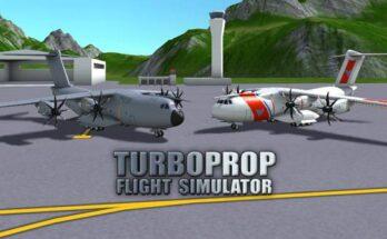 Turboprop Flight Simulator 3D apk mod dinheiro infinito 2021