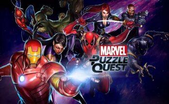 Marvel Puzzle Quest apk mod dinheiro infinito 2021