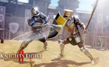 Knights Fight 2 apk mod dinheiro infinito 2021