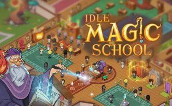 Idle Magic School apk mod