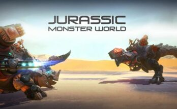 Jurassic Monster World apk mod dinheiro infinito 2021